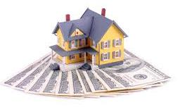 house model on cash